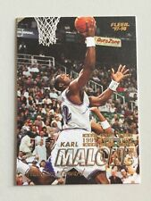 Fleer 1997-98 NBA Basketball Card #32 Karl Malone Utah Jazz