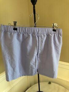 "NWT Patagonia $55 Light Viotet Blue Barely Baggies 2.5"" Shorts Size X-Large"