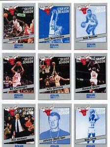 1990 - 91 Star 16 Card Set - Bulls Equal 25th Anniversary]]