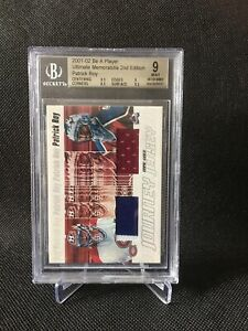2001-02 Be A Player ULTIMATE MEMORABILIA Patrick Roy DUAL JERSEY /50 BGS 9 SP