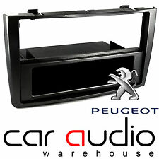 Peugeot 308 CC 2009 On Single Din Car Stereo Fascia Panel Piano Black CT24PE10