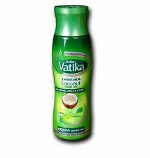 3x DABUR VATIKA ENRICHED COCONUT OIL WITH HENNA  AMLA LEMON Herbs 150ML