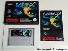 Super Nintendo / SNES Game: Flashback [PAL] (Complete) [FAH]
