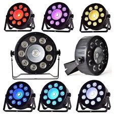 DMX 9X3W +1X30W PAR RGB Stagelampe LED Bühnenbeleuchtung Licht Discokugel Licht
