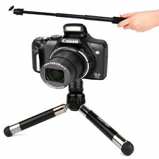 """PowerShot S110//SX510 HS per Canon IXUS 255HS /""""SELFIE/"""" - Pod 1 Monopiede 2-in"""