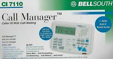 Vintage Bellsouth Ci 7110 Call Manager Caller Id with Call Waiting New