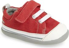 NEW IN BOX See Kai Run Stevie II Sneaker Red Baby Size 3 FREE SHIP