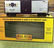 MTH Rail King Railroaders Club (MTHRRC) 40' High Cube Box Car NEW Old Stock 2006