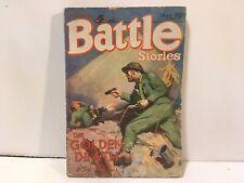Battle Stories Pulp July 1930