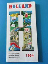 HOLLAND Belle brochure touristique ancienne