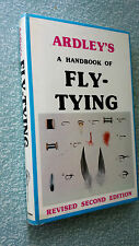 The Handbook of Fly-tying by Denis H. Ardley (Hardback/dj 1985)