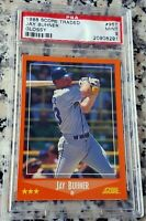 JAY BUHNER 1988 Score Traded GLOSSY SP Rookie RC PSA 9 Seattle Mariners 310 HR