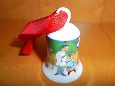 Hutschenreuther Weihnachtsglocke Mini  Friseur  Neu OVP