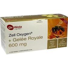 ZELL OXYGEN + Gelee Royale 600 mg Trinkampullen 14X20ml PZN 447273