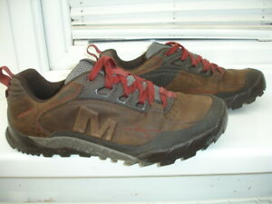 Merrell Shoes Trainers Walking Clay Mens size UK11