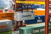 Faller 180820 20' Container MAERSK, Profi-Fertigmodell ++ NEU in OVP