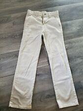 Chaps Boys' Approved Schoolwear Khaki Pants Size 14 Slim