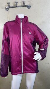Adidas Formotion Full Zip Jacket Purple Women's Size L