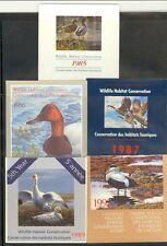 Canada - 5 diff Wildlife stamps (Catalog Value $85.00)