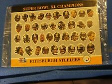2006 Topps Super Bowl Champions Pittsburgh Steelers Large Card