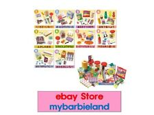 Re-ment Full Set of 10 CANDY SHOP $ DOLLAR STORE BARBIE SIZE MINIATURE FOOD