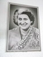 "INDIRA GANDHI  Poster  unique nice INDIA famous personality 16""11"""