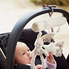 Baby Hanging Accessories Music Rabbit Plush Stroller Toys Mobile Crib Car Seat