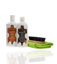 Gliptone GT12 Leather Cleaner & GT11 Conditioner + Brush - NEW
