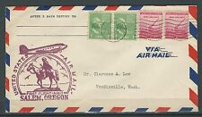 1941 First Flight - AM 11 - Salem Oregon - Scott #804 & 900 On Cover - Salem Can
