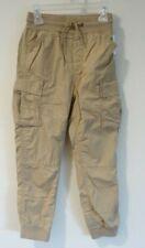 Brand New Gap Kids Lined Khaki Cargo Joggers Boy's Size XS / 4-5