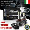 2pezzi 55W 9012 30000LM Auto Luci 360° LED Fari Lampadine Kit Xenon Bianco 6000K