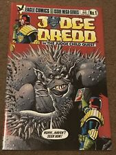 Judge Dredd Judge Child Quest #1-5 Eagle Complete Set Run Lot 2 3 4 Very Nice!
