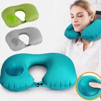 Eg _ a Forma di U Morbido Gonfiabile Cuscino per collo Sleep Ufficio Viaggio