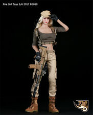 HOT FIGURE TOYS Fire Girl Toys1/6 Tactical female shooter Cool  refreshing suit