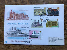 GB FDC 1975 Architectural Heritage Year