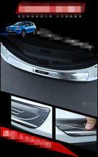 1Pcs fit for RAV4 RAV 4 2016 2017 rear door plate bumper cover door sill trim