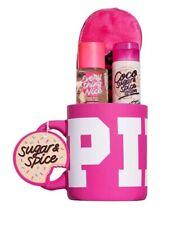 Vs pink coco sugar & spice mug gift set New Xl mug, mist, lotion & sleep mask