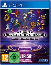 PS4 Sega Mega Drive Classics über 50 Spiele NEU&OVP Playstation 4
