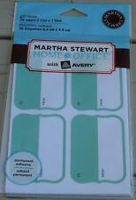 Martha Stewart Home Office Gift Labels - 36 Labels - Green Brand New In Package