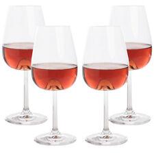 4pk Lead Free 17oz Crystal Wine Glasses Set with Wine Aerator Cones Stemware