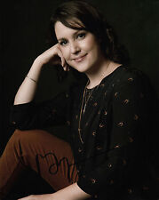 MELANIE LYNSKEY AUTHENTIC SIGNED TWO & HALF MEN 10X8 PHOTO AFTAL & UACC [14117]