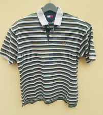 Vintage Tommy Hilfiger Brown Polo Crest Logo Mens 90s Size Xl