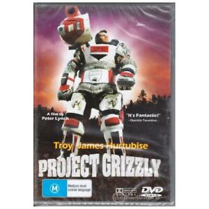 PROJECT GRIZZLY TROY JAMES HURTUBISE -Rare DVD Aus Stock Comedy New Region 4