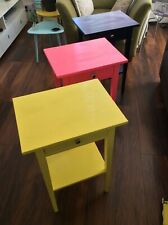 Bold & Bright Ikea Hemnes Side Tables