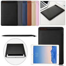 "Leather Sleeve Protective Case Cover Pouch Skin For iPad Pro 9.7"" 10.5"" 12.9"""