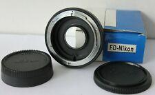 Canon FD Lens to NIKON F / AI  Digital / Film Camera Infinity Adapter.UK Seller.
