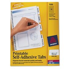 Avery Printable Self Adhesive Tabs - 16282