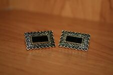 Soviet Original Vintage Metal CUFFLINKS USSR Russian Rare about