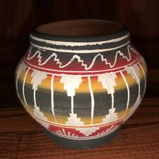 Native American Navajo Pottery Pot Signed R. McCabe