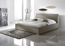 Bettgestelle ohne Matratze aus Kunstleder 160cm x 200cm zum Zusammenbauen